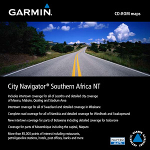 City Navigator Southern Africa NT, microSD/SD