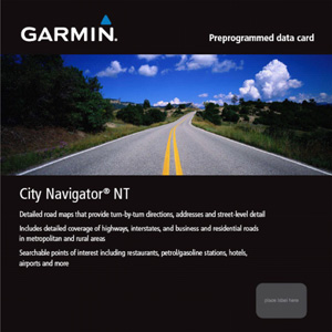 City Navigator UK & Ireland NT, microSD/SD