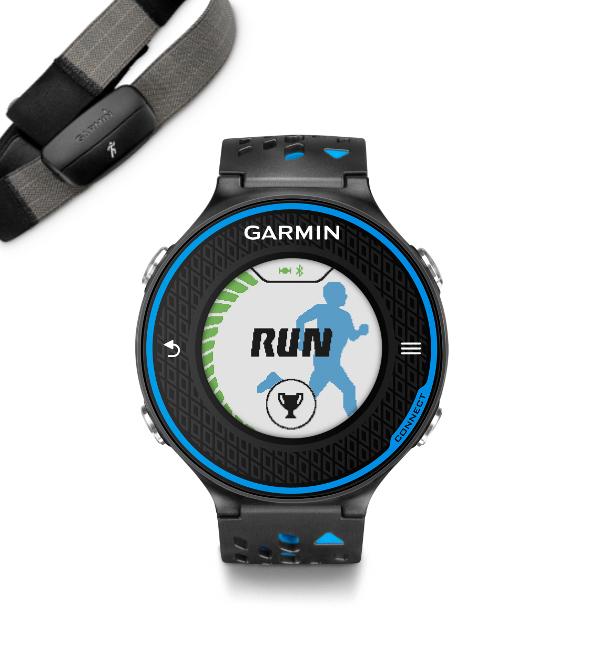 Forerunner 620 HRM-Run Black Blue b8659f6ab4f