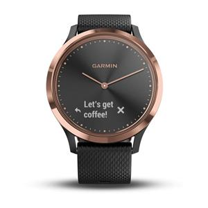 vívomove HR, Sport, Black-Rose Gold, S/M
